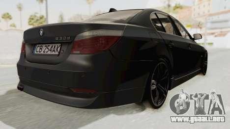 BMW 530D E60 para la visión correcta GTA San Andreas