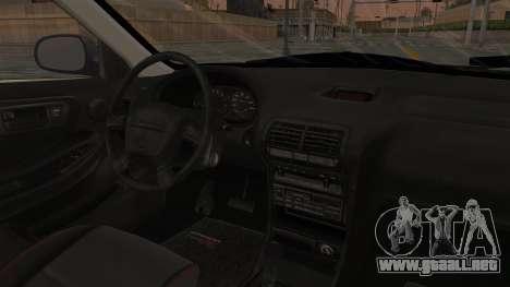 Acura Integra Fast N Furious para visión interna GTA San Andreas