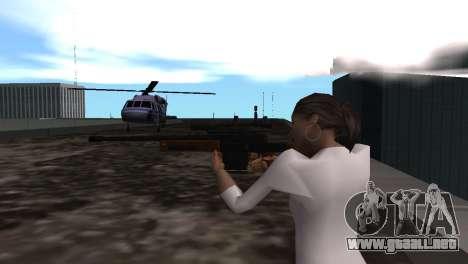 VIP Sniper Rifle para GTA San Andreas sucesivamente de pantalla