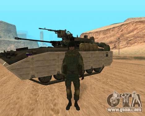 Las fuerzas especiales de la Federación de rusia para GTA San Andreas