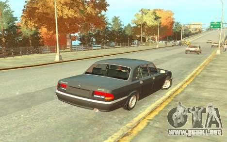 GAZ 3110 para GTA 4 visión correcta