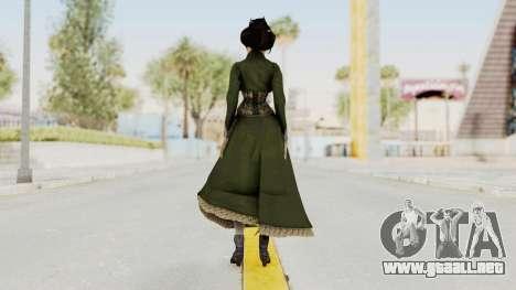 Bioshock Infinite Elizabeth Gibson para GTA San Andreas tercera pantalla