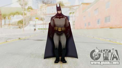 Batman Arkham City - Batman v1 para GTA San Andreas segunda pantalla