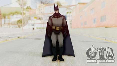Batman Arkham City - Batman v1 para GTA San Andreas segunda pantalla