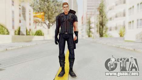 Captain America Civil War - Hawkeye para GTA San Andreas segunda pantalla