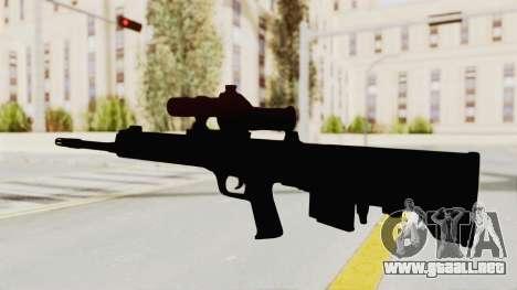 QBU-88 para GTA San Andreas tercera pantalla