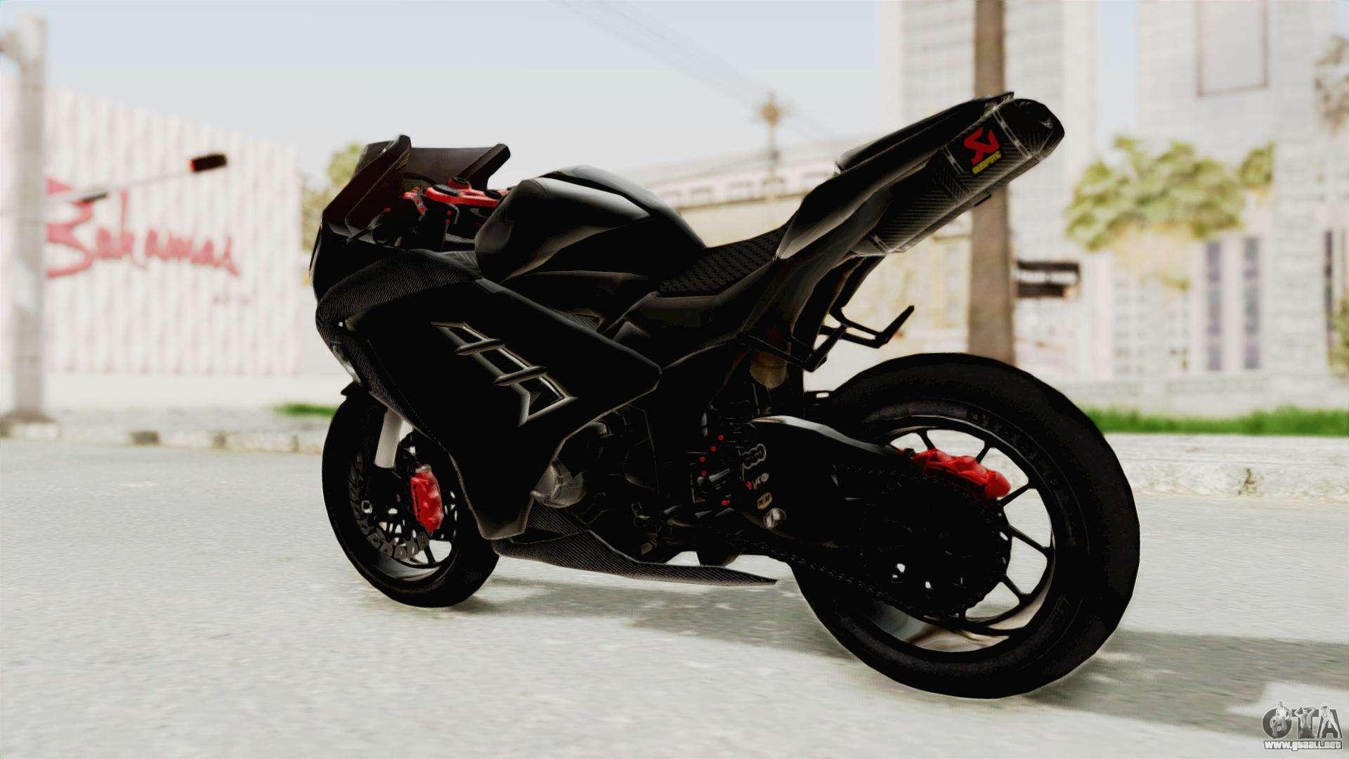 Ktm Gta Sa >> Kawasaki Ninja 300 FI Modification para GTA San Andreas