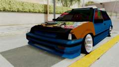 Honda Civic EF9 HellaFlush