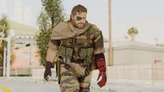 MGSV The Phantom Pain Venom Snake Scarf v2 para GTA San Andreas