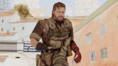 MGSV The Phantom Pain Venom Snake No Eyepatch v9 para GTA San Andreas