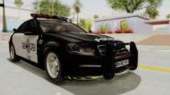 Mercedes-Benz C63 AMG 2010 Police v2 para GTA San Andreas