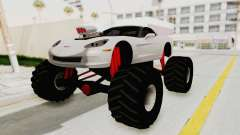 Chevrolet Corvette C6 Monster Truck para GTA San Andreas