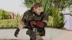 MGSV The Phantom Pain Venom Snake No Eyepatch v4 para GTA San Andreas