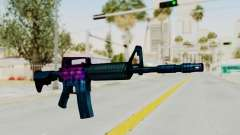 Vice M4 para GTA San Andreas