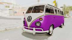 Volkswagen T1 Station Wagon De Luxe Type2 1963 para GTA San Andreas