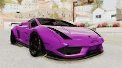 Lamborghini Gallardo 2015 Liberty Walk LB para GTA San Andreas