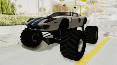 Ford GT 2005 Monster Truck para GTA San Andreas