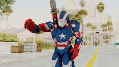 Marvel Heroes - Iron Patriot para GTA San Andreas