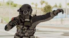 CoD MW3 Russian Military LMG Black