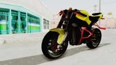 Kawasaki Ninja ZX-10R Nakedbike Stunter para GTA San Andreas