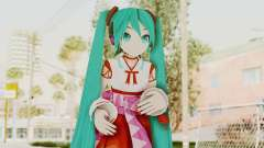 Project Diva F2nd - Hatsune Miku (Shrine Maiden) para GTA San Andreas