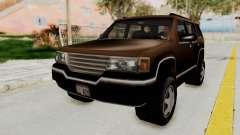 Landstalker from GTA 3 para GTA San Andreas