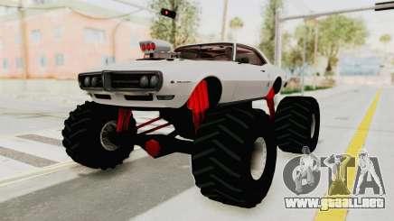 Pontiac Firebird 400 1968 Monster Truck para GTA San Andreas