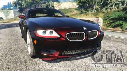 BMW Z4 M (E86) 2008 para GTA 5