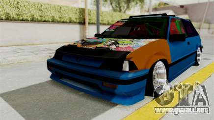 Honda Civic EF9 HellaFlush para GTA San Andreas