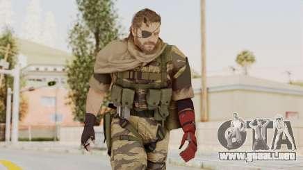 MGSV The Phantom Pain Venom Snake Scarf v2 para GTA San Andreas