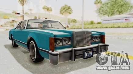 GTA 5 Dundreary Virgo Classic Custom v3 para GTA San Andreas