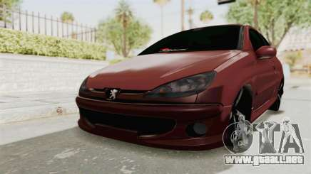 Peugeot 206 Full para GTA San Andreas