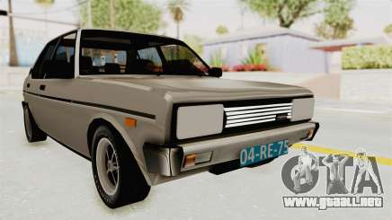 Fiat 131 Supermirafiori 1977 para GTA San Andreas