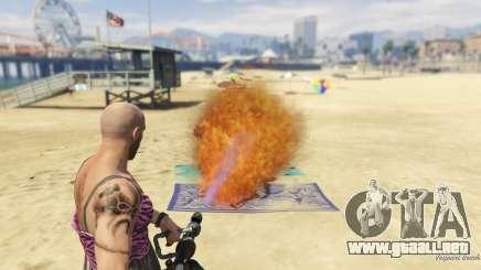 Real Flamethrower 1.5 para GTA 5