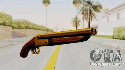 Sawnoff Gold para GTA San Andreas