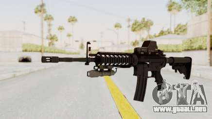 AR-15 with Eotech 552 and Flashlight para GTA San Andreas