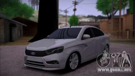 Lada Vesta Stock para GTA San Andreas