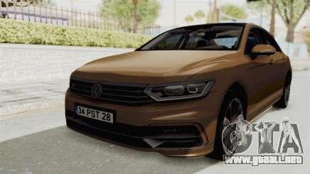 Volkswagen Passat B8 2016 RLine IVF para GTA San Andreas