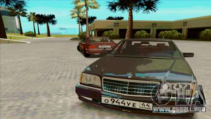 Mercedez-Benz W140 para GTA San Andreas