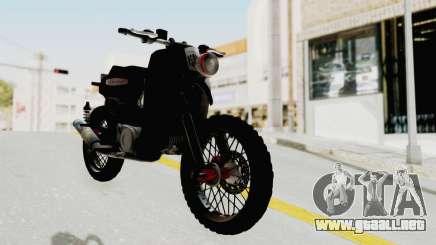 Honda Super Cub Modif Moge para GTA San Andreas