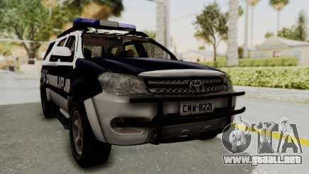 Toyota Fortuner JPJ White para GTA San Andreas