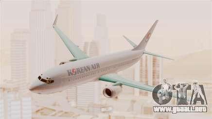 Boeing 737-800 Korean Air para GTA San Andreas