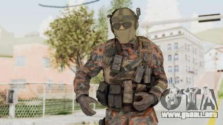 COD Black Ops 2 Cuban PMC 1 para GTA San Andreas