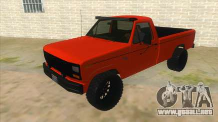1984 Ford F150 Final para GTA San Andreas