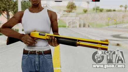 Remington 870 Gold para GTA San Andreas