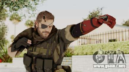 MGSV The Phantom Pain Venom Snake Scarf v4 para GTA San Andreas