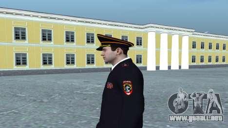 General del Ministerio para GTA San Andreas segunda pantalla