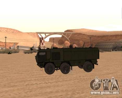 KAMAZ 63968 Tifón para GTA San Andreas left