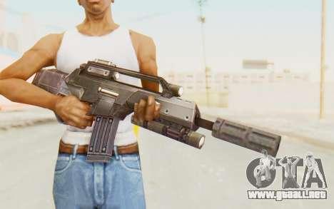 APB Reloaded - STAR 556 LCR para GTA San Andreas tercera pantalla