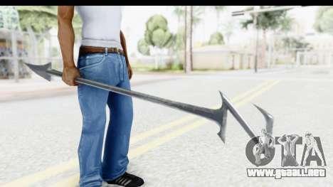 Lord Zedd Weapon para GTA San Andreas